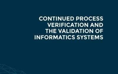 How to validate informatics in CPV programs