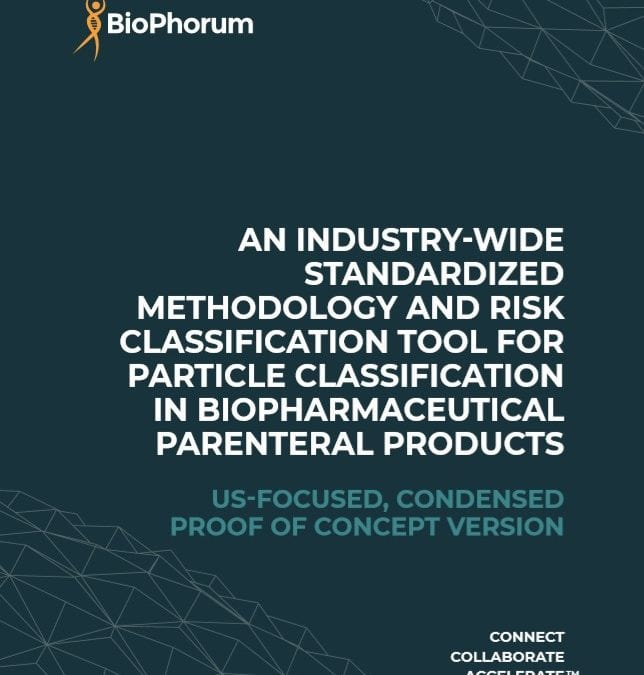 Particle classification: An industry-wide standardized methodology and risk classification tool for PC in biopharmaceutical parenteral products