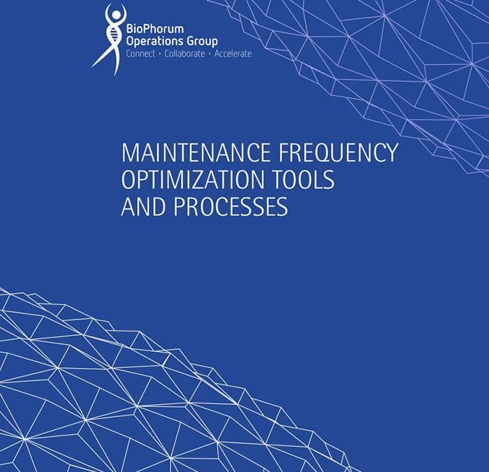 Maintenance Frequency Optimization Tools And Processes