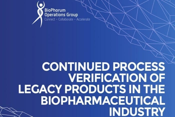 Continued process verification (CPV) of legacy products in the biopharmaceutical industry