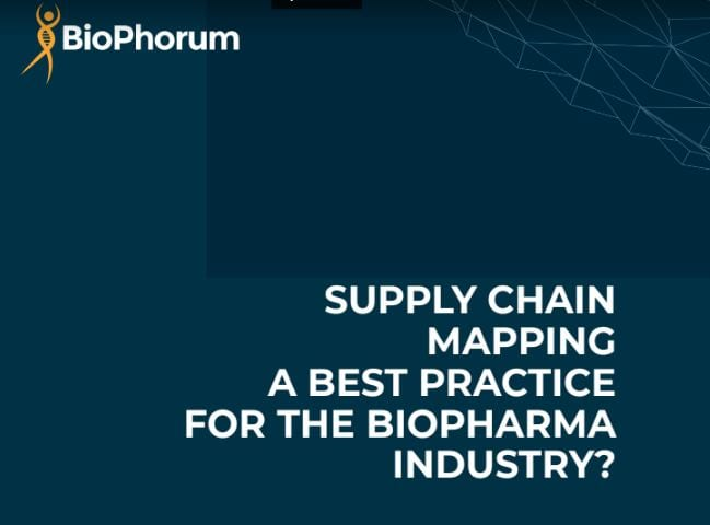 Supply chain mapping White Paper