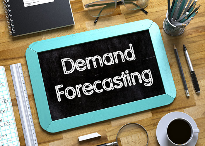 Forecast and demand planning chalk board