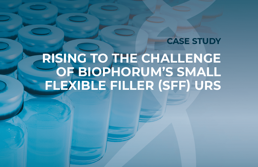 Rising to the challenge of BioPhorum's small flexible filler URS